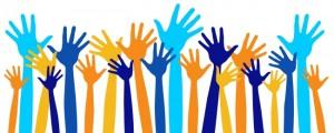 Image montrant des mains levées