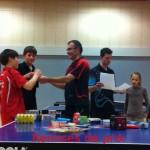 Remise de prix tournoi des familles