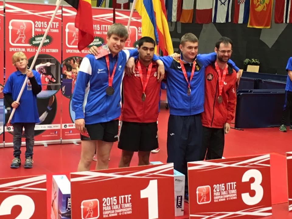 Championnat d europe lucas m daill d argent en simple - Championnat d europe de tennis de table ...